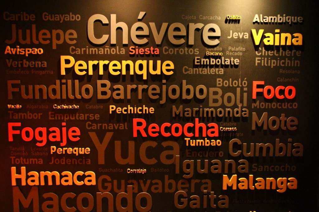 A sample of Colombian Spanish mainly spoken on the caribbean coast