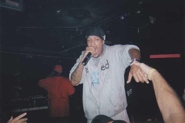 Redman cold rocks the Blind Pig in Ann Arbor, Michigan