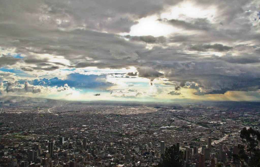 2600 Meters and Climbing...Behold the City of Bogotá and the vast Altiplano Cundiboyacense  Camera: Canon Rebel T1i Lens: Sigma 17-50mm, f/20 Focal Length: 17 mm Exposure settings: 1/1600 sec at f/10, ISO 800