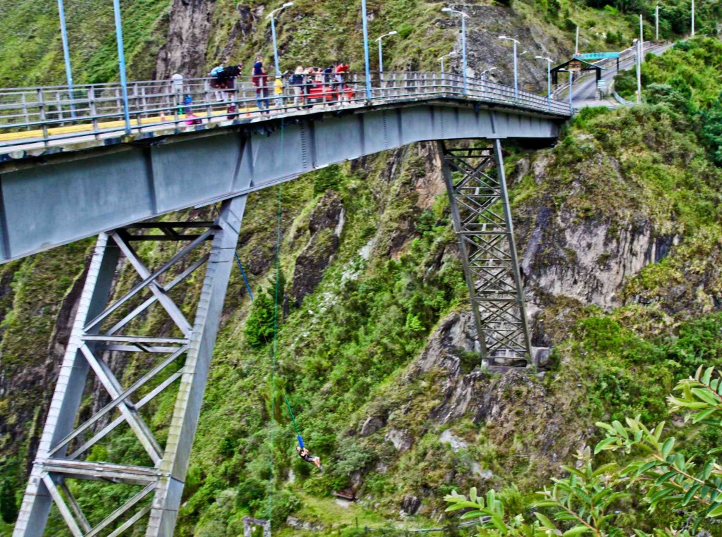 Latin America Travel Photography by Jamie Killen: Here and Now - Puenting/Bungee in Baños, Ecuador