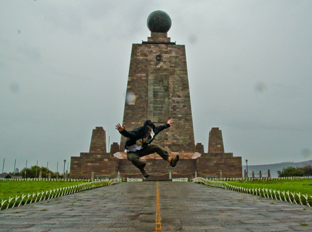 Latin America Travel Photography by Jamie Killen: Jumping Hemispheres at La Mitad del Mundo