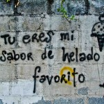 Latin America Travel Photography by Jamie Killen: Eres Todo mi mundo Love Street Art Quito Ecuador Travel